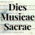 Dies Musicae Sacrae